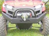 Extreme Metal Products, LLC - Mid-Size Ranger Extreme Front Bumper / Brush Guard with Winch Mount - Image 6