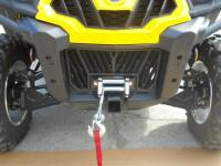 "Can-Am - Commander - Extreme Metal Products, LLC - Commander Front 2"" Receiver & Winch Mount Combo"