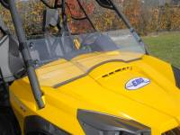 Can-Am - Commander - Extreme Metal Products, LLC - Commander Half Windshield / Wind Deflector