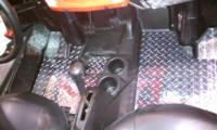 RZR Diamond Plate Floor boards