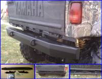 Yamaha - Rhino - Extreme Metal Products, LLC - Rhino Rear Bumper