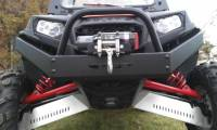 Extreme Metal Products, LLC - RZR XP900 Extreme Front Bumper / Brush Guard with Winch Mount - Image 2