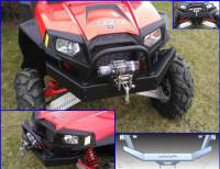 Polaris - RZR® XP H.O. Jagged X Edition - Extreme Metal Products, LLC - RZR XP900 Extreme Front Bumper / Brush Guard with Winch Mount