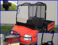 Kubota - RTV - Extreme Metal Products, LLC - Kubota RTV900 Full Windshield
