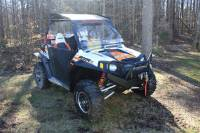 RZR Outback Edition Front Bumper / Brush Guard with Winch Mount