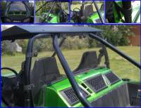 Arctic Cat - Wildcat - Extreme Metal Products, LLC - Wildcat 1000 Rear Cab Back / Dust Stopper