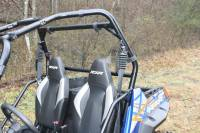 Extreme Metal Products, LLC - RZR Hard Coated Cab Back / Dust Stopper - Image 2