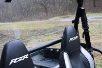 Extreme Metal Products, LLC - RZR Hard Coated Cab Back / Dust Stopper - Image 3