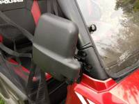 Extreme Metal Products, LLC - Polaris Ranger Folding Mirror set for the PRO-FIT Cage (non-round cage) - Image 3
