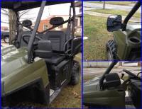 Extreme Metal Products, LLC - Ranger and RZR Folding Mirror Set - Image 6