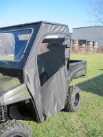 Polaris - RANGER®  - Full Size - Extreme Metal Products, LLC - Ranger Soft Doors for Cab Enclosure
