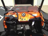 Extreme Metal Products, LLC - RZR Half Windshield / Wind Deflector (Hard Coated-both sides) - Image 2