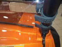 Extreme Metal Products, LLC - RZR Half Windshield / Wind Deflector (Hard Coated-both sides) - Image 3