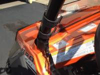 Extreme Metal Products, LLC - RZR Half Windshield / Wind Deflector (Hard Coated-both sides) - Image 4