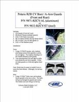 Extreme Metal Products, LLC - RZR CV Boot / A-Arm Guards - Steel - Image 3