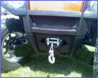 Extreme Metal Products, LLC - RZR Winch Mount - Image 2