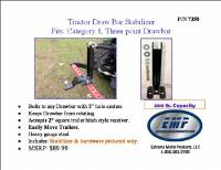 Extreme Metal Products, LLC - Tractor 3pt Hitch Drawbar Stabilizer - Image 3