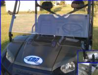 Polaris - RANGER®  - Full Size - Extreme Metal Products, LLC - Ranger Half Windshield / Wind Deflector