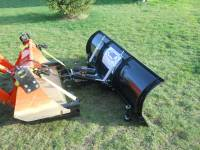 Extreme Metal Products, LLC - Compact Tractor Front Loader Snow Plow - Image 5