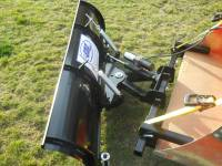 Extreme Metal Products, LLC - Compact Tractor Front Loader Snow Plow - Image 2