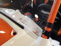 "Extreme Metal Products, LLC - RZR Hard Coat ""Cooter Brown"" Windshield - Image 2"