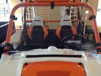"Extreme Metal Products, LLC - RZR Hard Coat ""Cooter Brown"" Windshield"