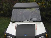 "Extreme Metal Products, LLC - RZR Hard Coat ""Cooter Brown"" Windshield - Image 5"