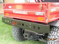 Kawasaki - Mule™ - Extreme Metal Products, LLC - Mule 600 / 610  Heavy Duty Rear Bumper