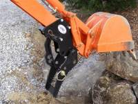 Tractor & Compact Trackhoe - Extreme Metal Products, LLC - Backhoe Thumb- Bolt-On