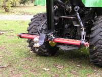 Tractor & Compact Trackhoe - Extreme Metal Products, LLC - Tractor 3pt Hitch Drawbar Stabilizer