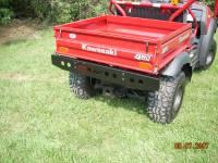 Mule 600 / 610  Heavy Duty Rear Bumper