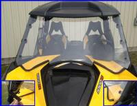 Can-Am - Maverick (XC, DPS, XMR and Max) - Extreme Metal Products, LLC - Maverick Hard Coat Full Windshield