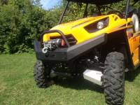 Extreme Metal Products, LLC - Teryx and Teryx4 Front Bumper / Brush Guard with Winch Mount - Image 2