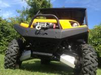 Extreme Metal Products, LLC - Teryx and Teryx4 Front Bumper / Brush Guard with Winch Mount - Image 4