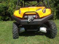 Extreme Metal Products, LLC - Teryx and Teryx4 Front Bumper / Brush Guard with Winch Mount - Image 5