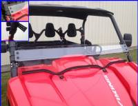 Yamaha - Viking - Extreme Metal Products, LLC - Viking Half Windshield / Wind Deflector