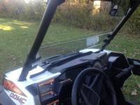Extreme Metal Products, LLC - RZR XP1K and RZR 900 Half Windshield/ Wind Deflector - Image 3