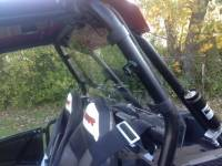 Extreme Metal Products, LLC - RZR XP1000  Cab Back / Dust Stopper (polycarbonate) - Image 2