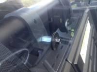 RZR XP1000  Cab Back / Dust Stopper (polycarbonate)