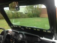 Extreme Metal Products, LLC - RZR XP1000 and 2015-18 RZR 900, 2016-18 RZR-S 1000 Laminated Safety Glass Windshield with Wiper - Image 2