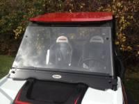 Extreme Metal Products, LLC - RZR XP1000 (XP1K) and  RZR 900 Flip Down Hard Coat Windshield - Image 2