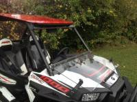 Extreme Metal Products, LLC - RZR XP1000 (XP1K) and  RZR 900 Flip Down Hard Coat Windshield - Image 3