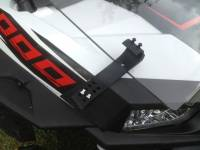 Extreme Metal Products, LLC - RZR XP1000 (XP1K) and  RZR 900 Flip Down Hard Coat Windshield - Image 5