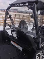 Extreme Metal Products, LLC - Polaris Sportsman ACE Cab Back / Dust Stopper
