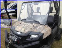 Honda - Pioneer - Extreme Metal Products, LLC - Pioneer 700 Hard Coated Full Windshield